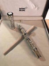 Montblanc Georges Pompidou Limited Edition 77 Skeleton Fountain Pen