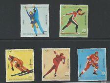 EQUATORIAL GUINEA ,1980 OLYMPICS, SPORTS , SET OF 5 , PERF , MNH