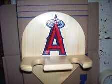 Angles Bat Rack to display 2 bats