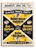 Buddy Holly Rock'N'Roll Concierto Clásico Cartel Póster
