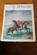 Masters Knowledge Publications 15 Delacroix Glossy Artist History Painting Art