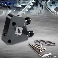 AN10 Oil Cooler Engine Adapter For LS1 LS2 LS3 Holden Commodore VT VX VY VZ VE