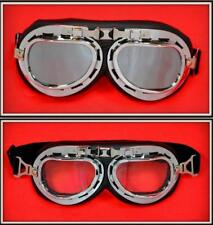 Lot of 2 pairs goggles motorcycle new [t-011+t-013] Custom motorcycle solex climax