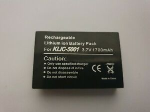 KLIC-5001 Battery for Kodak CX7440 DX7630 DX7440 DX7590 P712 P880 Z730 Z7590