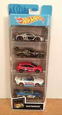 Hot Wheels 2020 5-Pack NIGHTBURNERZ Dodge Challenger/Renault/Mustang/Focus RS