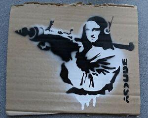 Dismaland Free Art Cardboard 2015 Banksy Original Rare