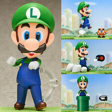 Nendoroid 393 Luigi Super Mario Anime Action Figure Good Smile Company Japan