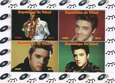 ELVIS PRESLEY 2013 REPUBLIQUE DU TCHAD MNH STAMP SHEETLET
