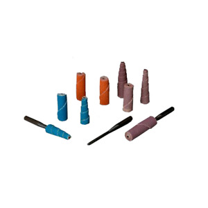 Standard Abrasives A/O Straight Cartridge Roll 708251, 1 in x 2 in x 1/4 in, 36