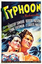 Typhoon (1940)-16mm Feature Film-Dorothy Lamour and Robert Preston
