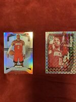 2019-20 Panini Prizm Prism Mosaic Lot (2) Swagger Russell Westbrook SILVER HOLO