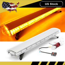 "38"" 72 Led Amber Strobe Light Bar Response Emergency Flashing Warning Tow"