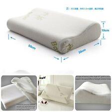 Sleeping Neck Pillow Massage Orthopedic Sleep Travel Tools 100% Bamboo Fiber