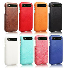 For Blackberry Q20 Classic Alligator Grain PU Leather Coated hard case cover