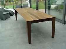 Esstisch Tisch Tafel massiv individuell 2m 3m bis 4m Eiche Esche Buche Nussbaum