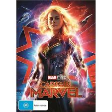 CAPTAIN MARVEL DVD, NEW & SEALED, 2019 RELEASE, FREE POST