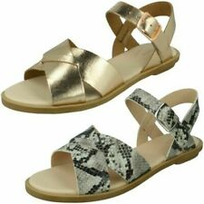 Ladies Clarks Causal Sandals 'Willow Gild'