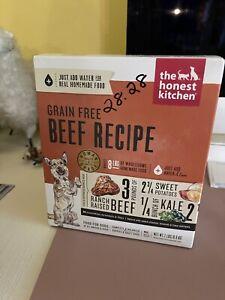 The Honest Kitchen Human Grade Dehydrated Grain Free Dog Food Beef