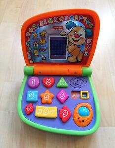 Fisher Price Lerncomputer Kindercomputer Deutsch Englisch Zahlen Licht Musik