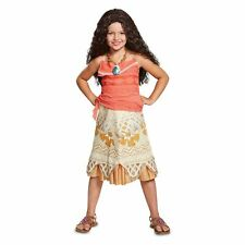 Disguise Disney Moana Childs Size Medium 7-8 Costume Dress Up Halloween