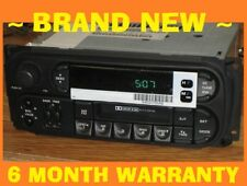 NEW OEM 2002-2006 JEEP GRAND CHEROKEE INFINITY CASSETTE RADIO STEREO CD-CONTROL
