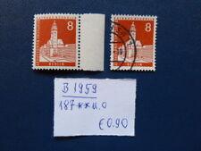 Berlin 1959, Freimarke: Berliner Stadtbilder (III), Michel 187, ** und o