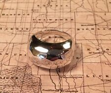 SILPADA R2758 Classique Hammered Sterling Silver Dome Ring Size 9 NEW Was $69.00