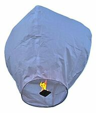 Event Lanterns Eco Friendly Sky Lanterns (Pack Of 10) White