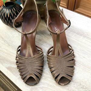 Gorgeous Ladies Vintage Designer Italian Leather Shoes - Size 5UK/38EU