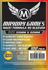 Mayday Race! Formula 89 Card Board Game Sleeves 55mm x 80mm - 50ct Pack MDG-7132