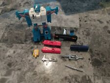 Transformers G1 Lot Weapons, Parts, Pieces Topspin