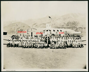 Old Photo,Zimmerly Air Transport,Airplane,Flying School, Lewiston,Clarkson,Idaho