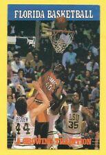 Florida Gators 1984-85 Schedule NCAA – Eugene McDowell vs LSU Redden & Reynolds