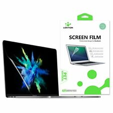 LENTION Clear Screen Protector for MacBook Pro 13-inch, 2016-2018, 2/4 3 Ports,