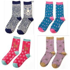 Miss Sparrow Bamboo Socks, Women's Single Packs Size 4-7