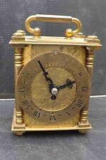 Brass Edwardian Antique Mantel & Carriage Clocks (1900-Now)