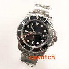 watch Sapphire Glass Automatic miyota 8215  Ceramic bezel 40mm black dial