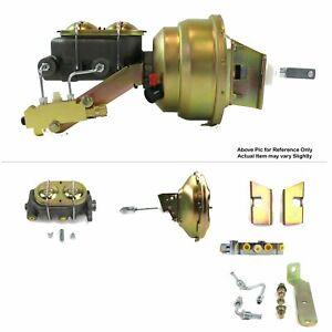 "1960-62 Chevy C10 Truck FW Mount Power 11"" Single Brake Booster Kit Disc/Disc LS"