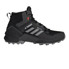 adidas Mens Terrex Swift R3 GORE-TEX Mid Walking Boots Black Sports Outdoors
