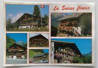 La Suisse Fleurie Postcard (P280)