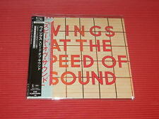 2017 PAUL MCCARTNEY & WINGS AT THE SPEED OF SOUND JAPAN MINI LP SHM CD