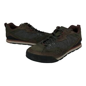 Merrell Burnt Rock Travel Suede J91249 Casual Shoes Men's Size 9.5 Dusty Olive