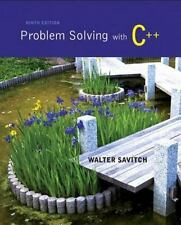 Problem Solving with C++ plus MyProgrammingLab with Pearson eText-- Access Card