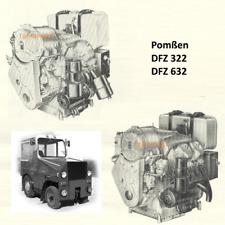 Anlasser für DDR Pomssen S3 Schlepper DFZ 322 DFZ 632 Cunewalde Motor 2 + 4 Zyl.