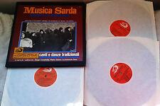 Musica Sarda/Music of Sardinia:Canti e Danze Tradizionali/Albatros,1973 Box 3LP