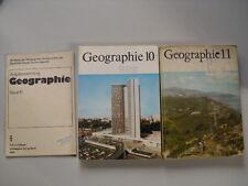 DDR Lehrbuch Schulbuch Geographie Klasse 10 u. 11 + Aufgabensammlung  2 Bücher