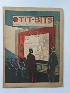 THE MURDER OF THE STAR! - TIT-BITS #1842 (1944) - COMIC IN SPANISH - ARGENTINA