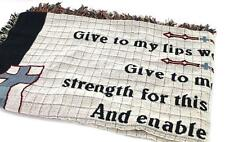 """Pure Country Weavers """"A Nurse's Prayer Blanket"""" Tapestry Throw"""