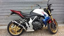 Honda CB1000R 08- Stainless Black Round Single outlet Road Legal MTC Exhaust