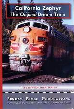 California Zephyr The Original Dream Train DVD NEW Sunday River Western Pacific